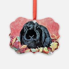 Autumn Rabbit Ornament