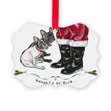 Naughty or Nice Ornament