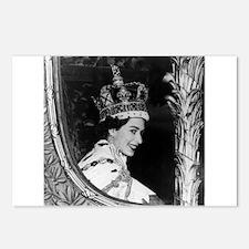 Oldskool Queen Elizabeth Postcards (Package of 8)