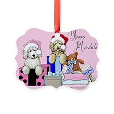 TBG Pink Christmas Ornament