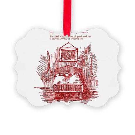 Dreams of Good and Joy Picture Ornament
