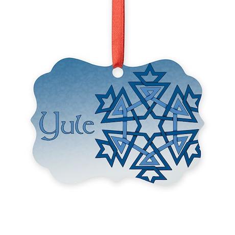 Yule Picture Ornament