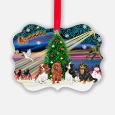 XmasMagic/4 Cavaliers Ornament