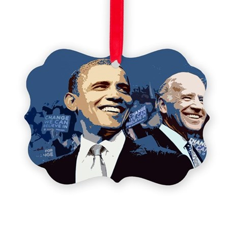 Barack - Biden Picture Ornament