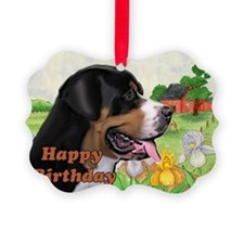 Swissie Birthday Ornament