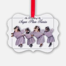 Sugar Plum Furries Ornament