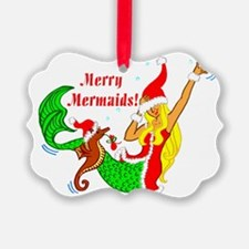 Save the Mermaids Ornament