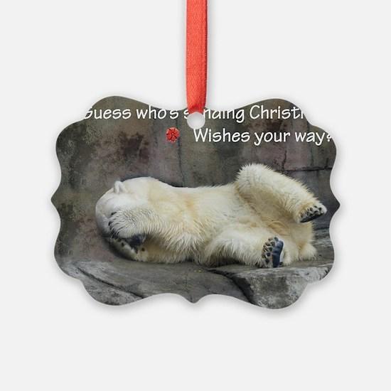 christmas wave Ornament