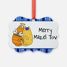 Merry Mazel Tov kitties Ornament