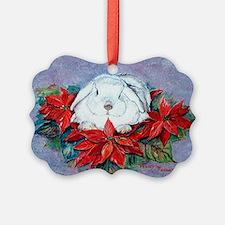 White Rabbit Christmas Ornament20)