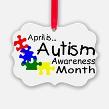 April Is Autism Awareness Month Ornament