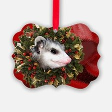 Possum Wreath Ornament