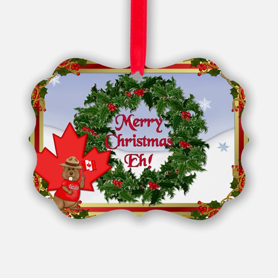 Christmas Greetings from Canada Ornament
