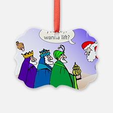 Three Kings Santa Wanna Lift Ornament