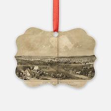 San Francisco, CA 1851 Ornament