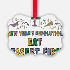 New Year's Resolution Ornament