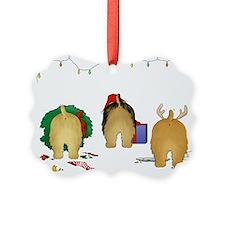 Norfolk Terrier Christmas Ornament0