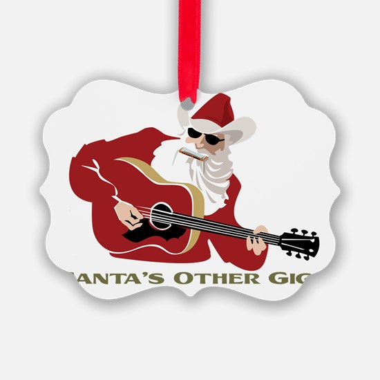 Santa's Other Gig Ornament