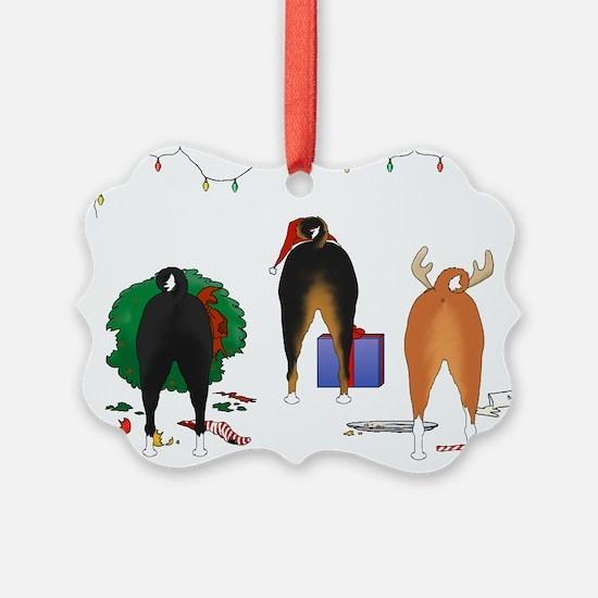 Basenji Christmas Ornament