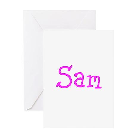 Sam, Samantha Greeting Card