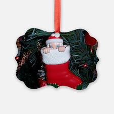 HOLIDAYS Santa Ornament