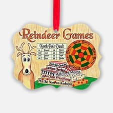 Reindeer Games Christmas Ornament