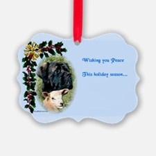 Holiday Peace Ornament