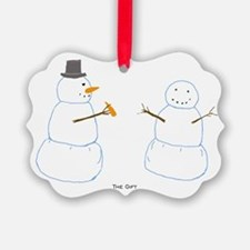 Snowman Donor Christmas Ornament