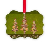 Quilting gifts Picture Frame Ornaments