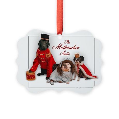 Muttcracker Suite Picture Ornament