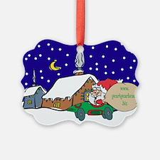 Gear4gearheads Santa Ornament