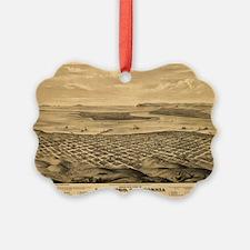 San Diego, CA 1876. Ornament