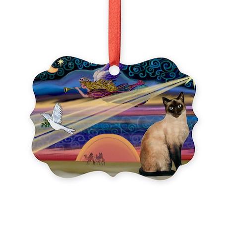 Xmas Star / Siamese Picture Ornament