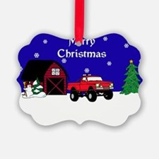4x4 Truck Christmas Ornament