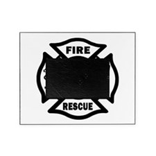 Fire Rescue Picture Frame