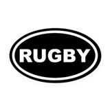 Rugby Oval Car Magnets