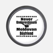 Never Underestimate A Moldovan Boyfrien Wall Clock