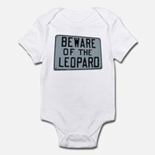 BEWARE OF THE LEOPARD Infant Creeper