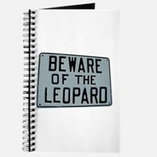 BEWARE OF THE LEOPARD Journal