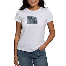 BEWARE OF THE LEOPARD Tee