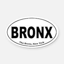 Bronx Oval Car Magnet