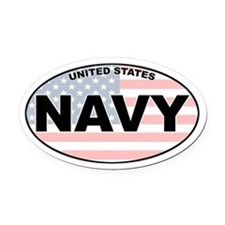 US Navy Oval Car Magnet
