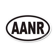AANR Euro Oval Car Magnet