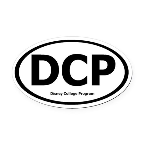 DCP Oval Car Magnet