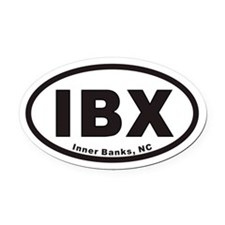 IBX Euro Oval Car Magnet