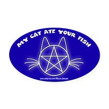 MCAYF (Blue) - Oval Car Magnet