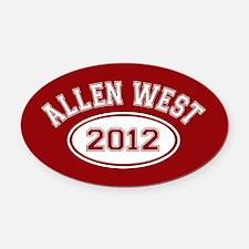 Allen West 2012 Oval Car Magnet