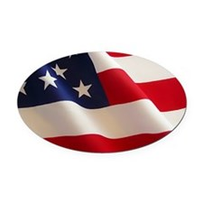 Unique Patriotic baby Oval Car Magnet