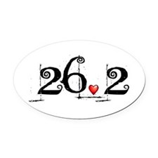 Cute 70.3 Oval Car Magnet