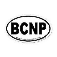 Bryce Canyon National Park BCNP Euro Oval Car Magn
